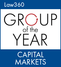 Capital Markets Group Of The Year: Cooley Law360