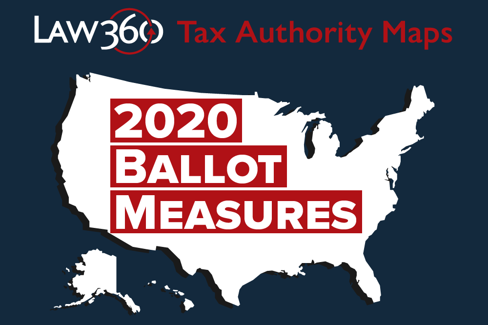 Tax Authority 2020 Ballot Measure Map (Graphic)
