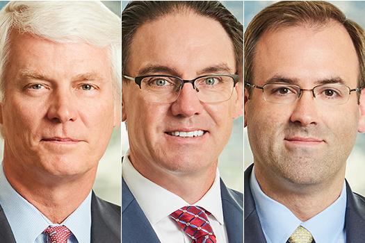 Phillip Philbin, Jamie McDole, and Michael Karson